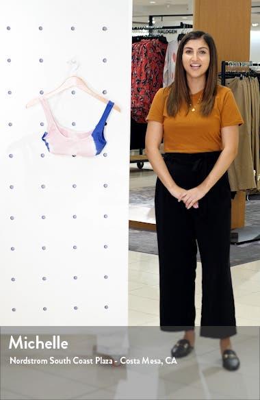 Lizzy Tie Dye Bikini Top, sales video thumbnail