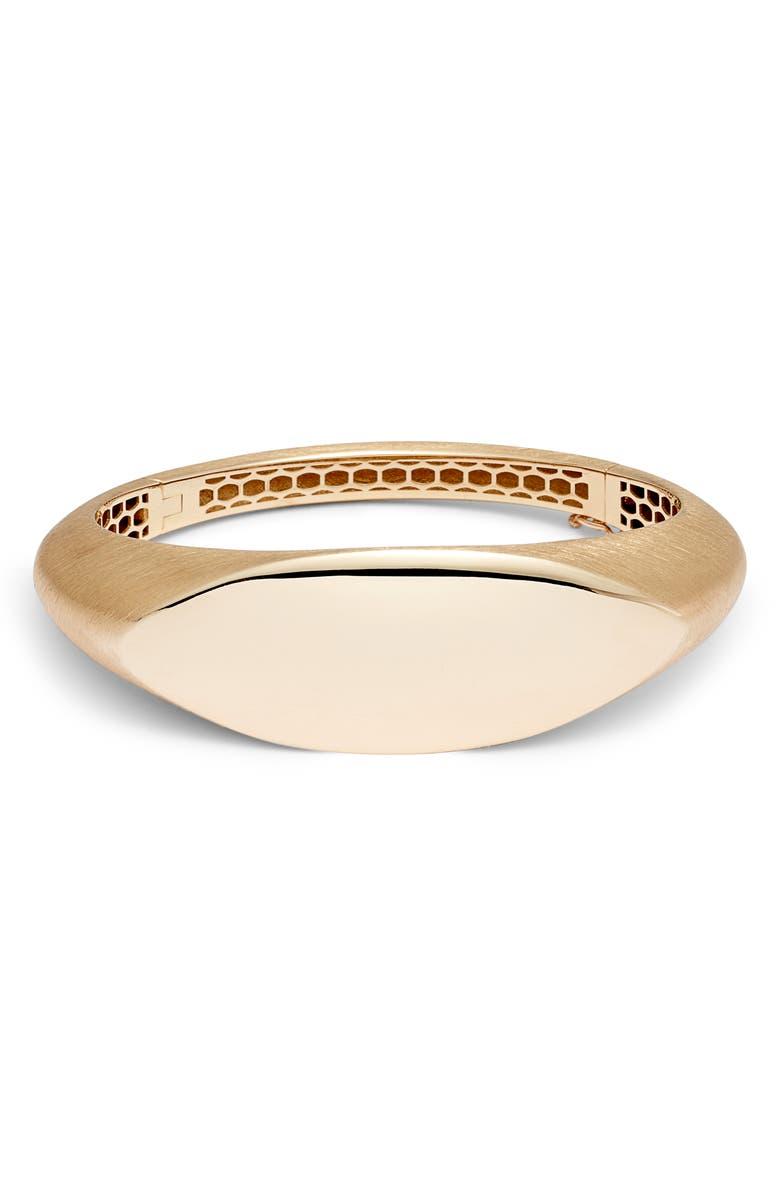 BONY LEVY Ofira 14K Gold Bangle, Main, color, YELLOW GOLD