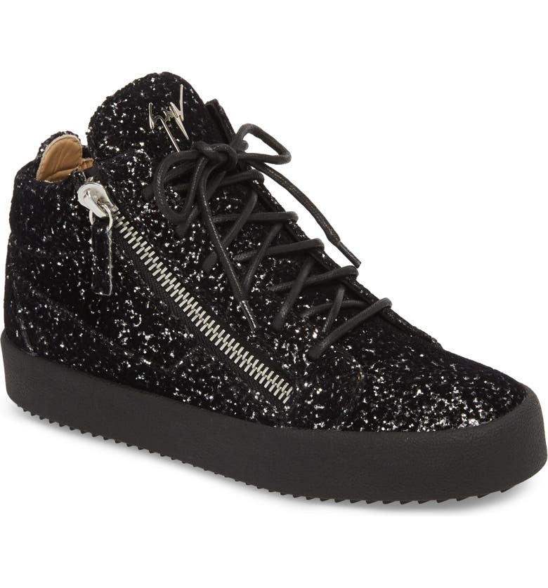 4a47362f26780 Giuseppe Zanotti Breck Mid Top Sneaker (Women) | Nordstrom
