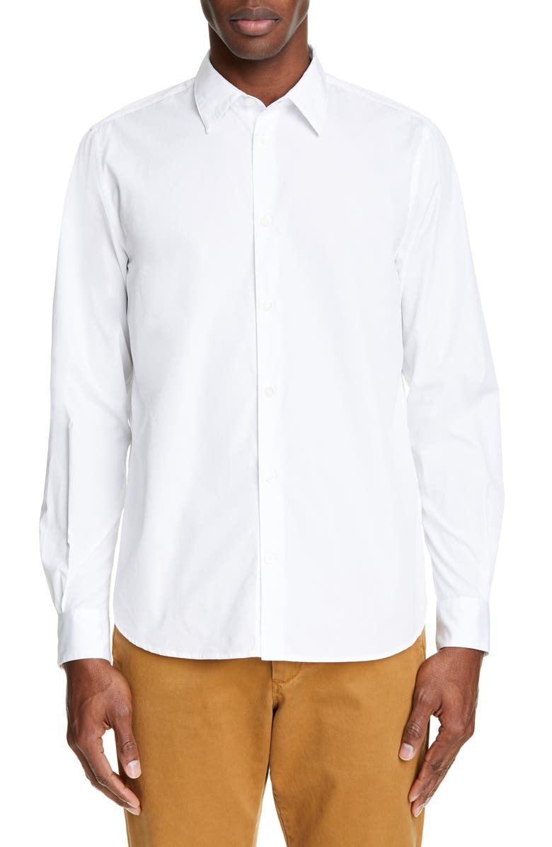 NORSE PROJECTS Hans Poplin Shirt, Main, color, 100