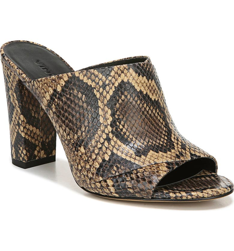 VINCE Heath Cross Strap Sandal, Main, color, SENEGAL PRINT LEATHER