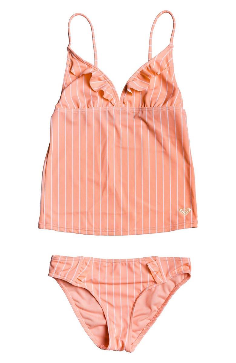 ROXY Field of Love Tankini Swimsuit, Main, color, 669