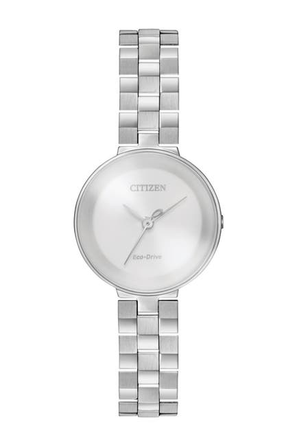 Image of Citizen Women's Eco-Drive Quartz Stainless Steel Casual Watch, 25mm