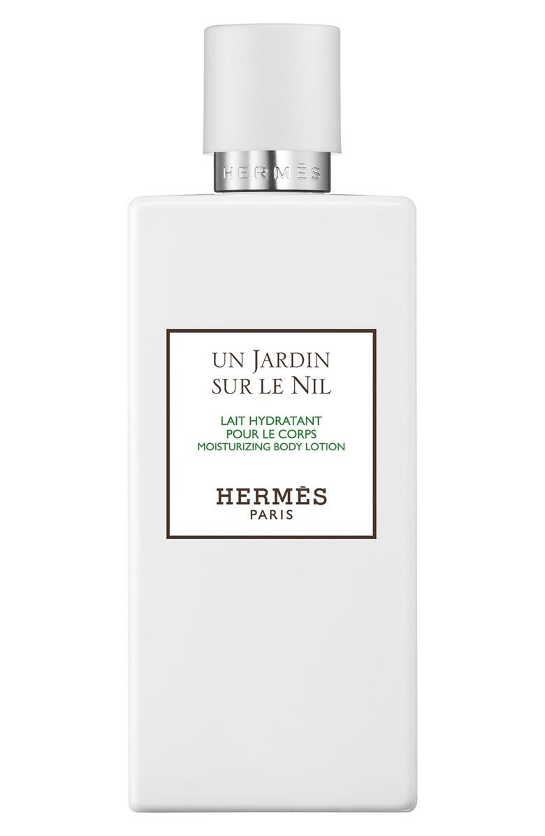 HERMÈS Le Jardin sur le Nil - Moisturizing body lotion, Main, color, NO COLOR