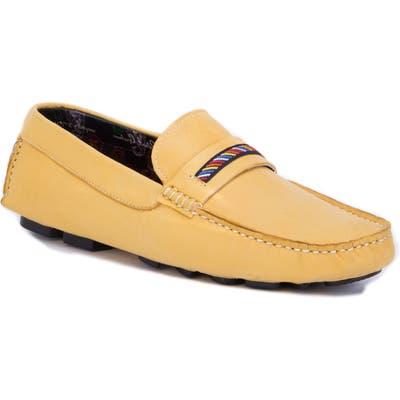 Robert Graham Hart Ii Driving Shoe, Yellow
