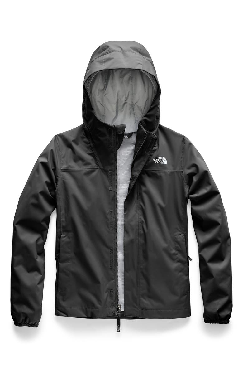 THE NORTH FACE Resolve Reflective Waterproof Parka, Main, color, TNF BLACK