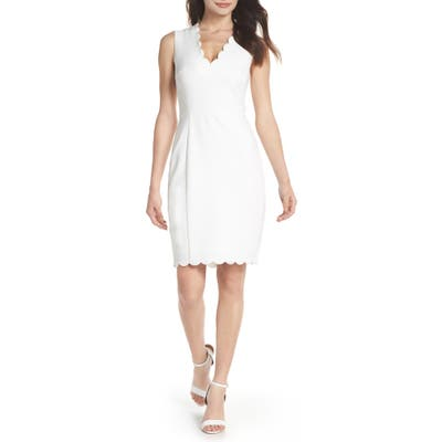 French Connection Whisper Ruth Sheath Dress
