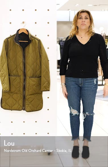 Nixie Reversible Quilted Jacket, sales video thumbnail