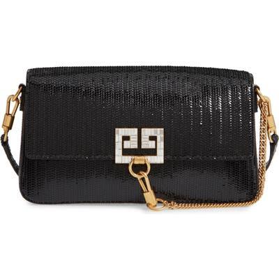 Givenchy Small Leather Shoulder Bag - Black