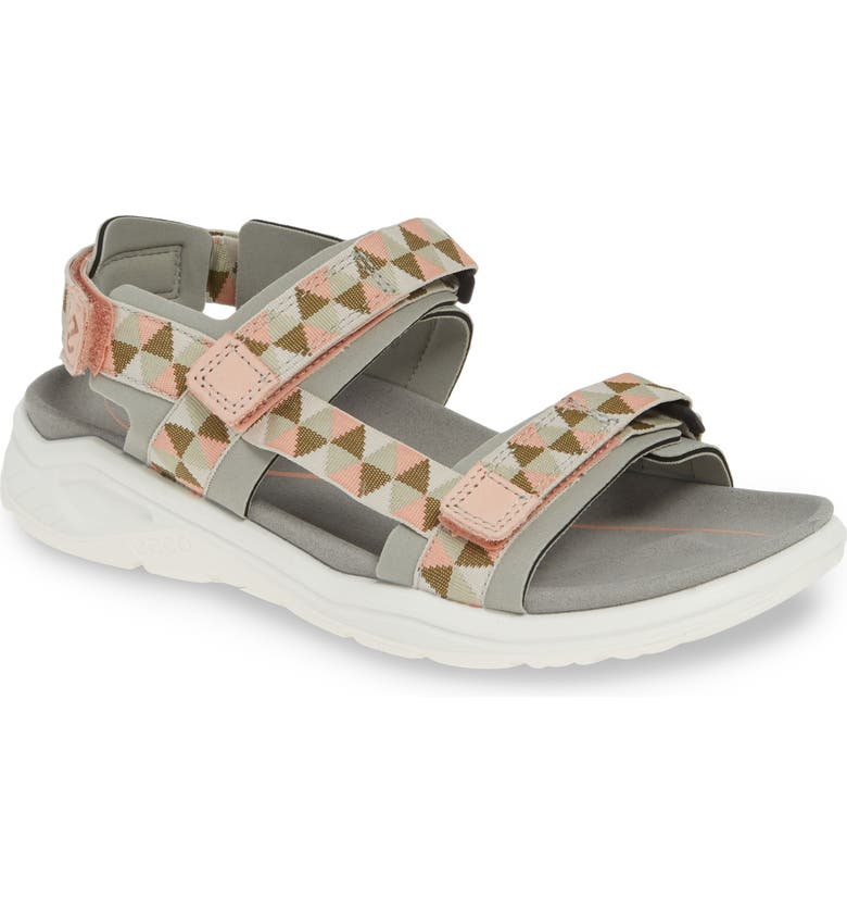 ECCO X-Trinsic Sandal, Main, color, WILD DOVE/ MUTED CLAY FABRIC