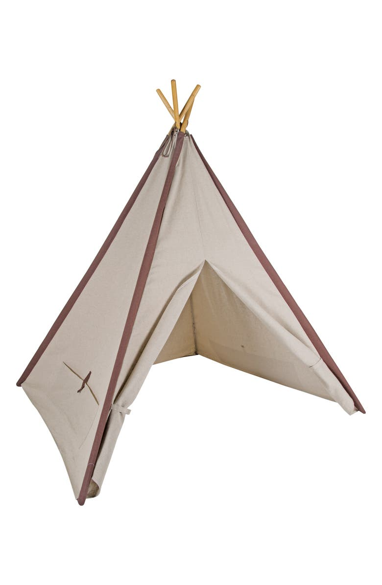 PACIFIC PLAY TENTS Classic Linen Teepee, Main, color, 250