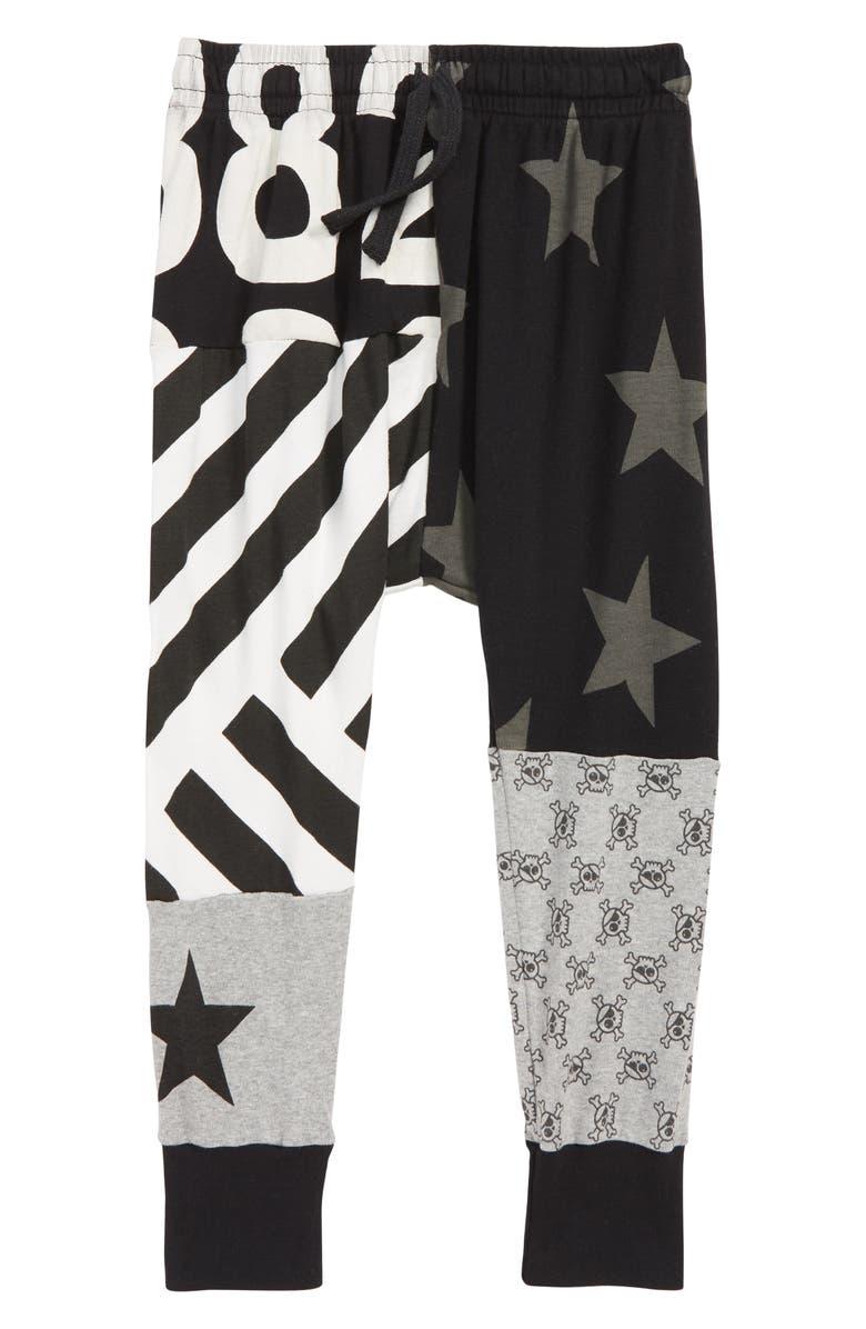 NUNUNU Quilt Baggy Pants, Main, color, 001