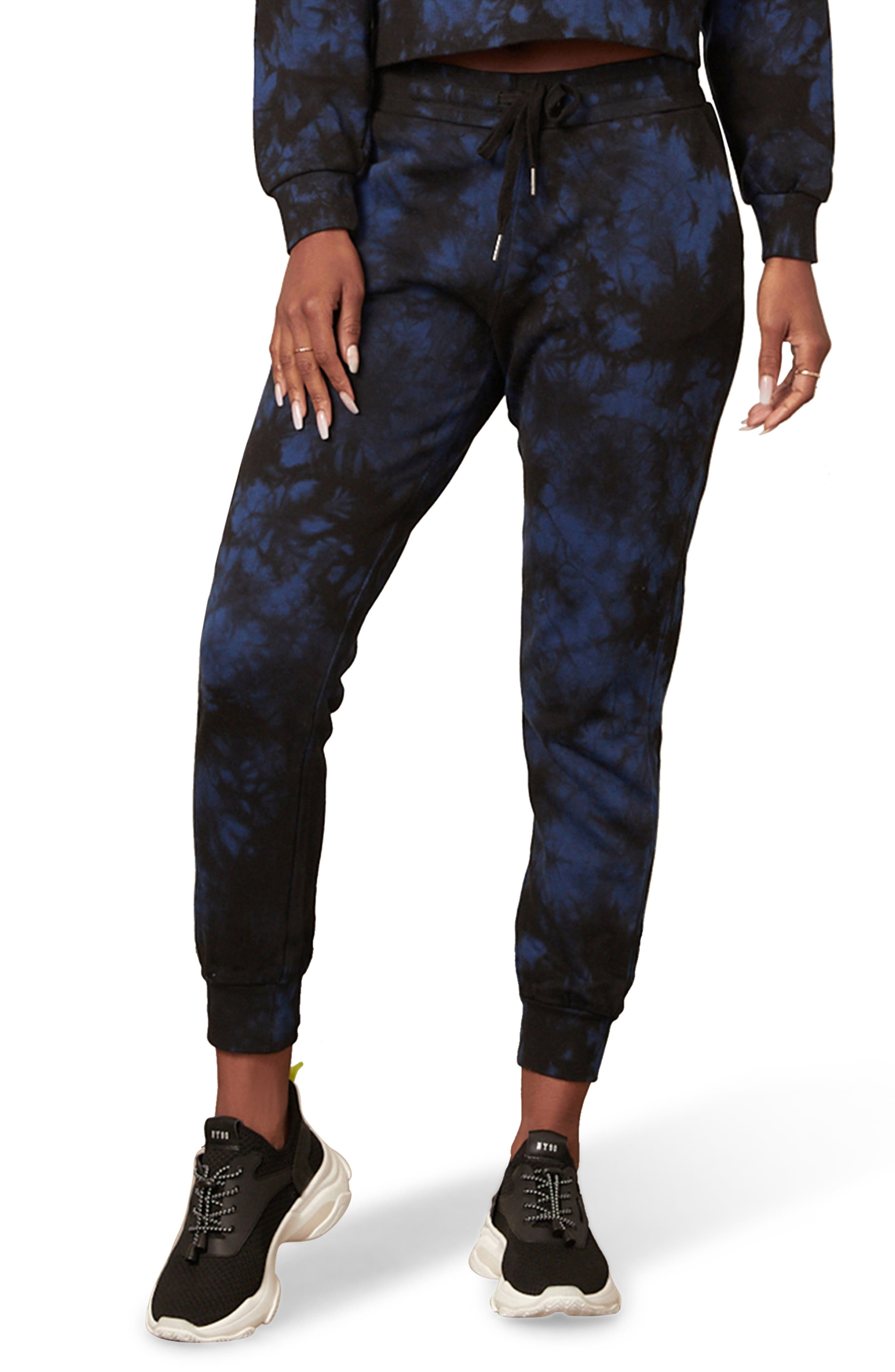 So Psyched Tie Dye Jogger Pants