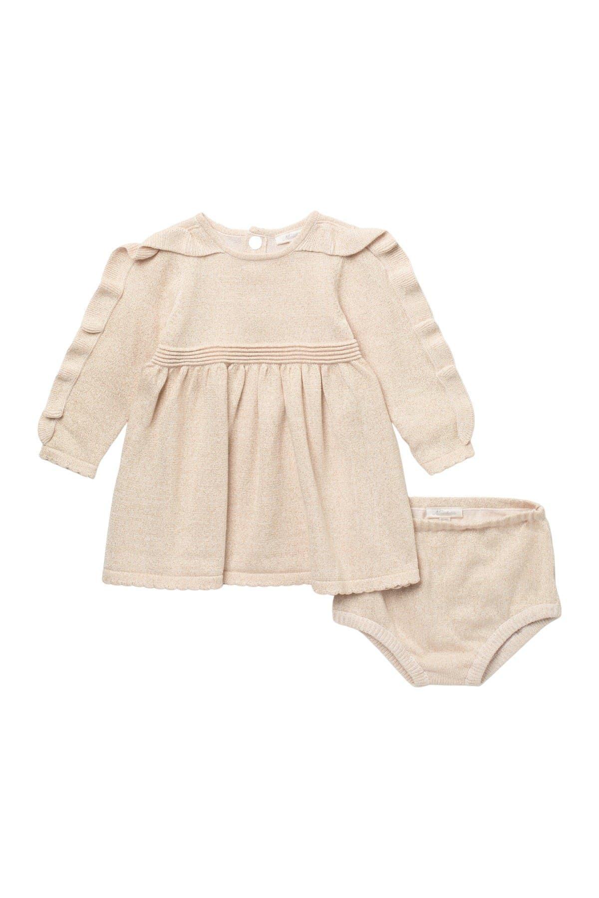 Image of Miniclasix Sweater Dress & Bloomers Set