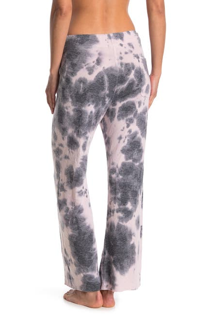 Image of Theo and Spence Tie Dye 2-Pocket Wide Leg Pants