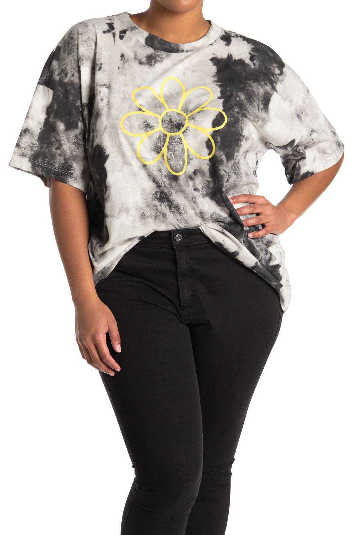 Image of Abound Graphic Tie Dye Oversized T-Shirt