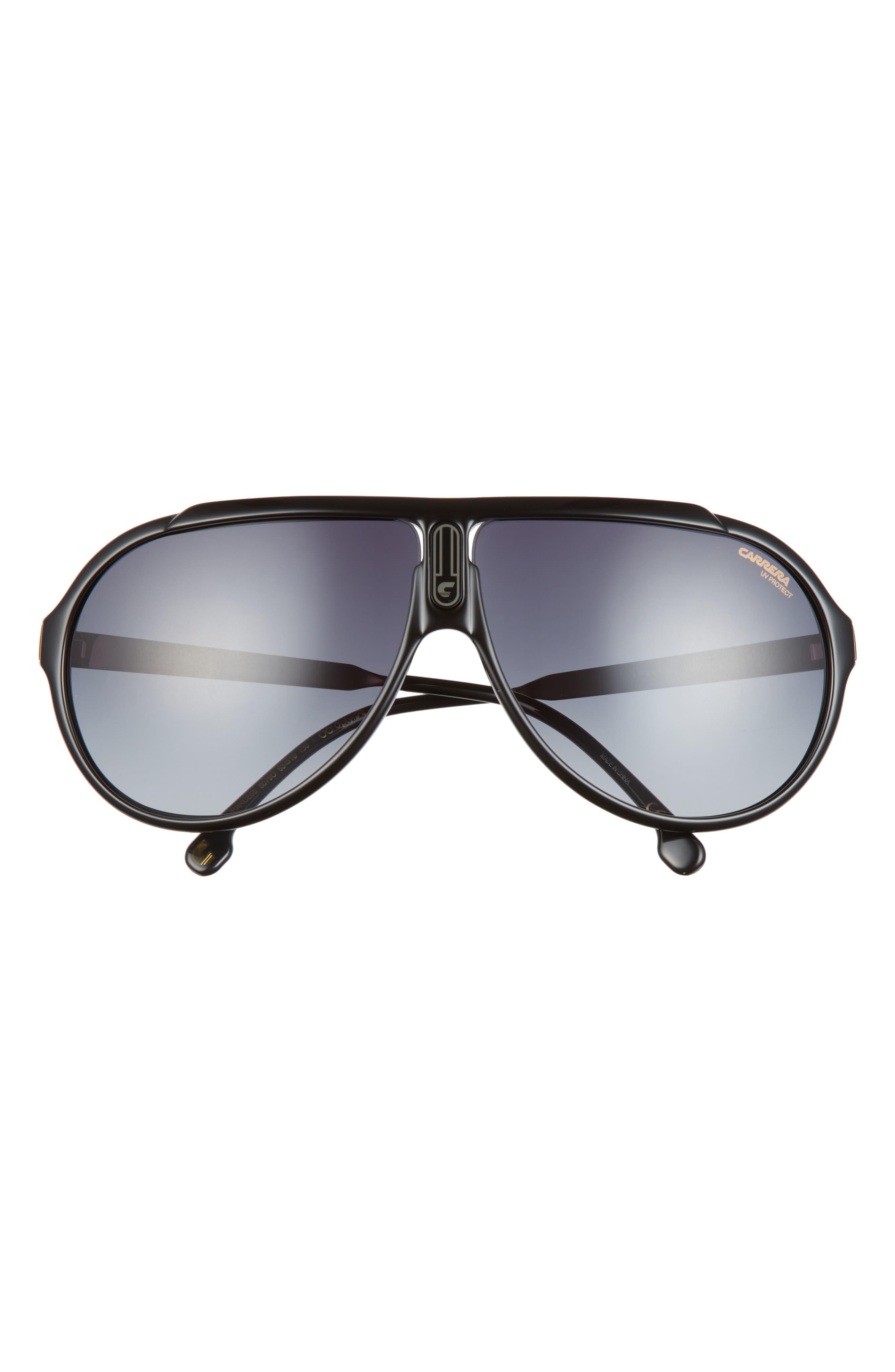 Endurance 63mm Gradient Oversize Aviator Sunglasses