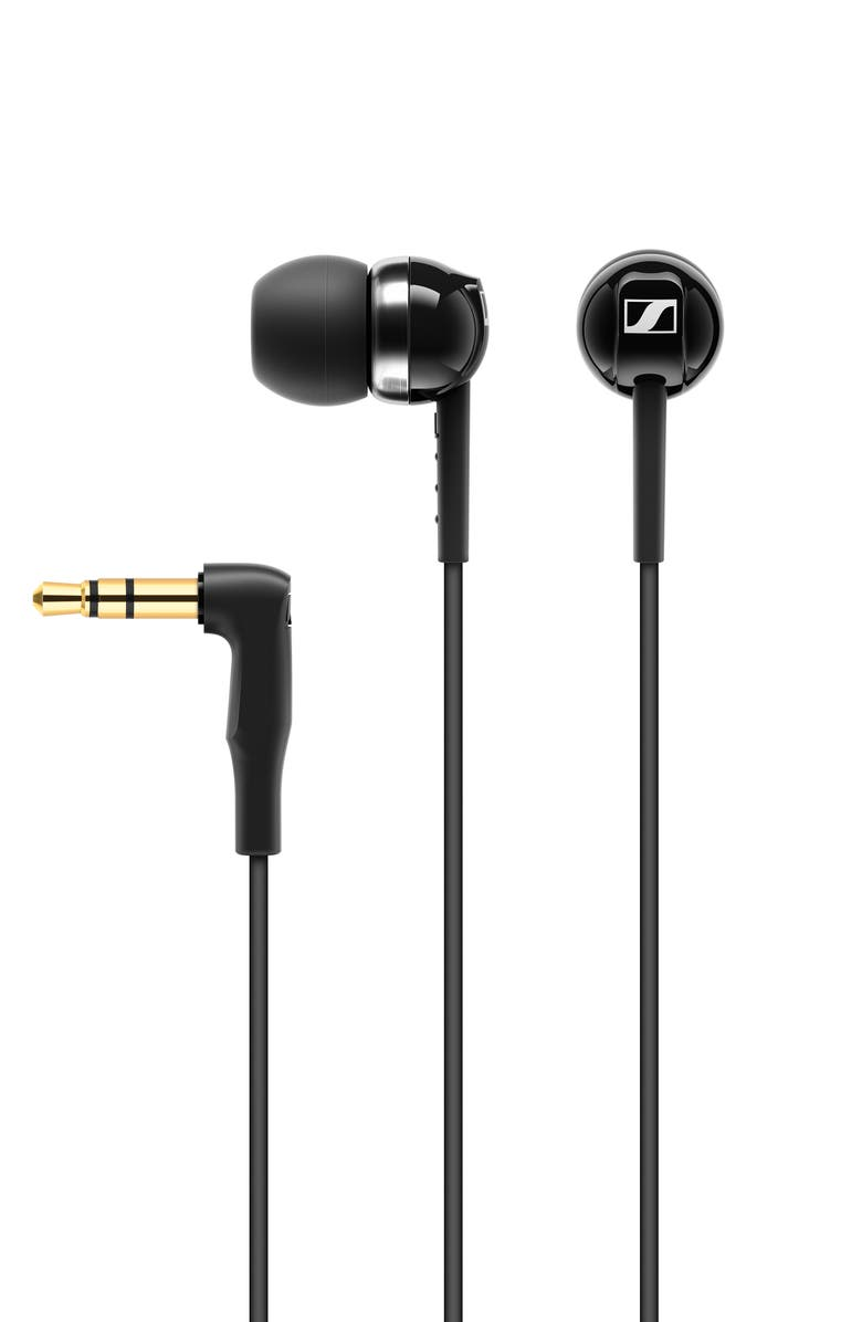 SENNHEISER CX100 In-Ear Headphones, Main, color, BLACK