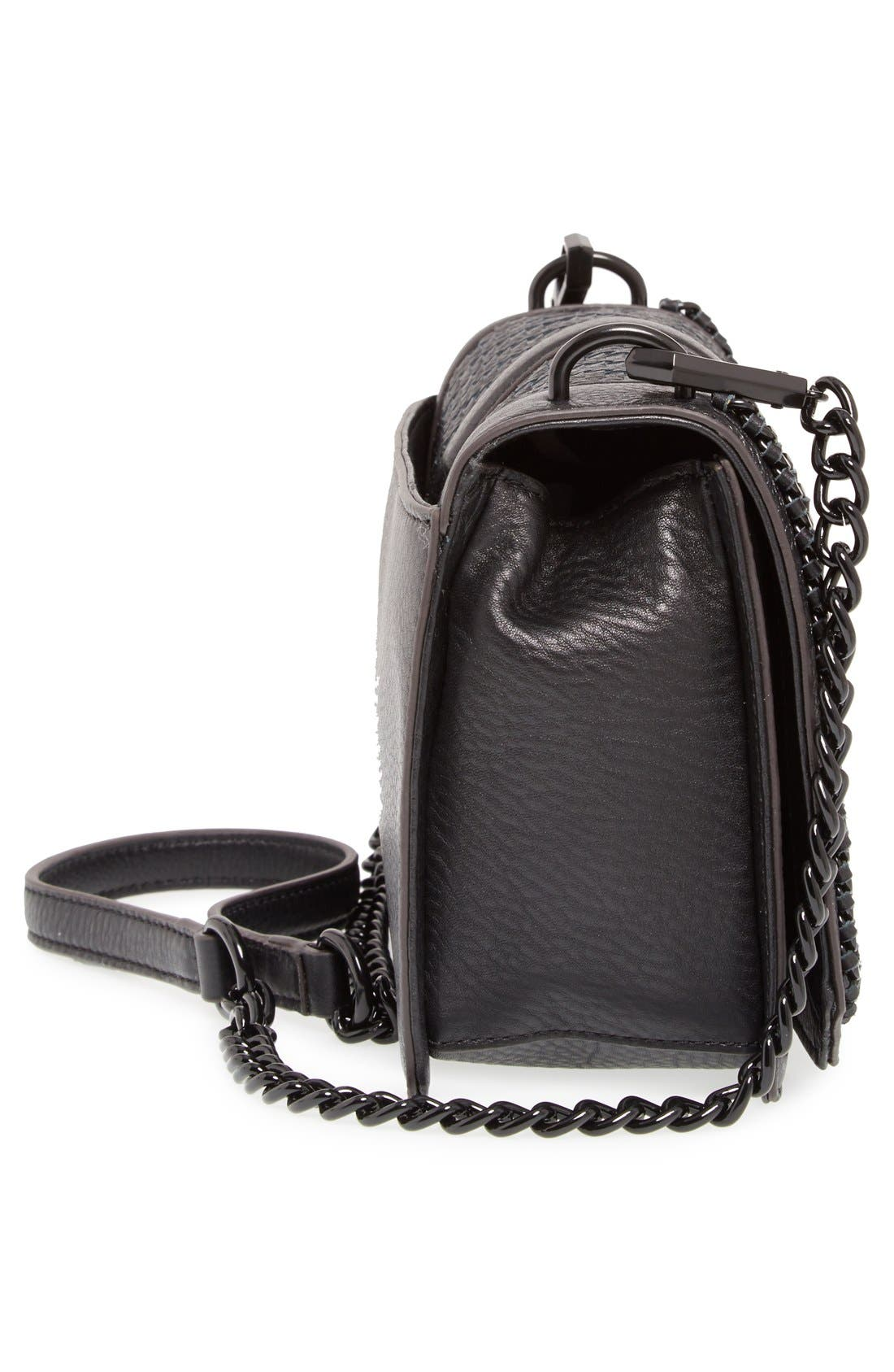 ,                             Love Leather Crossbody Bag,                             Alternate thumbnail 32, color,                             004