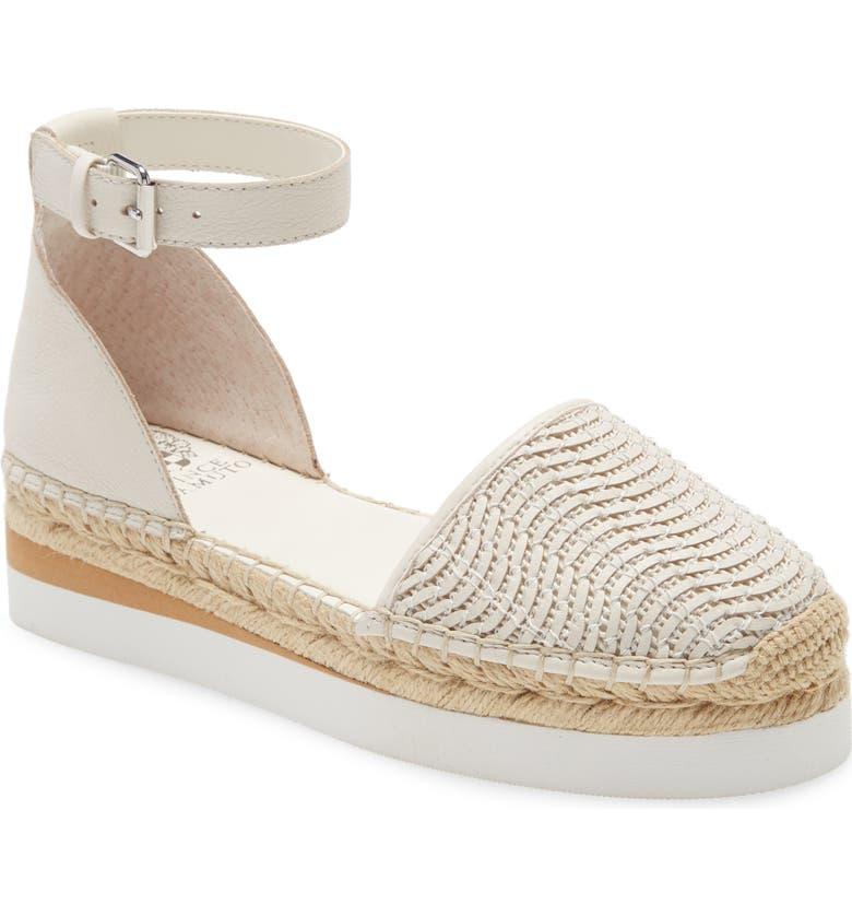 VINCE CAMUTO Brilesha Platform Sandal, Main, color, FLUFF