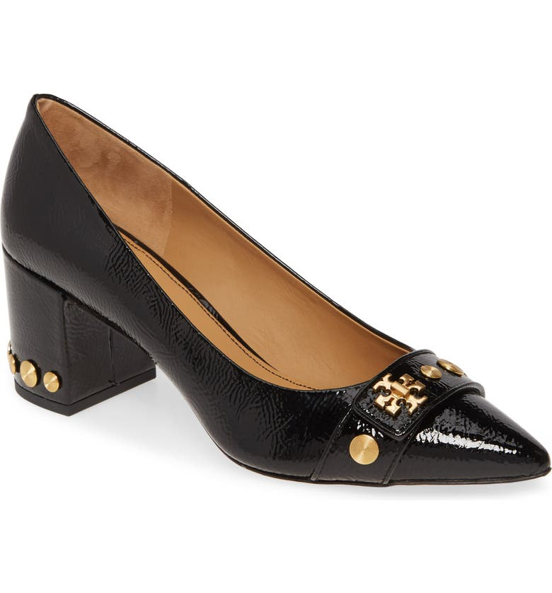 TORY BURCH Kira Studded Pump, Main, color, PERFECT BLACK/ PERFECT BLACK