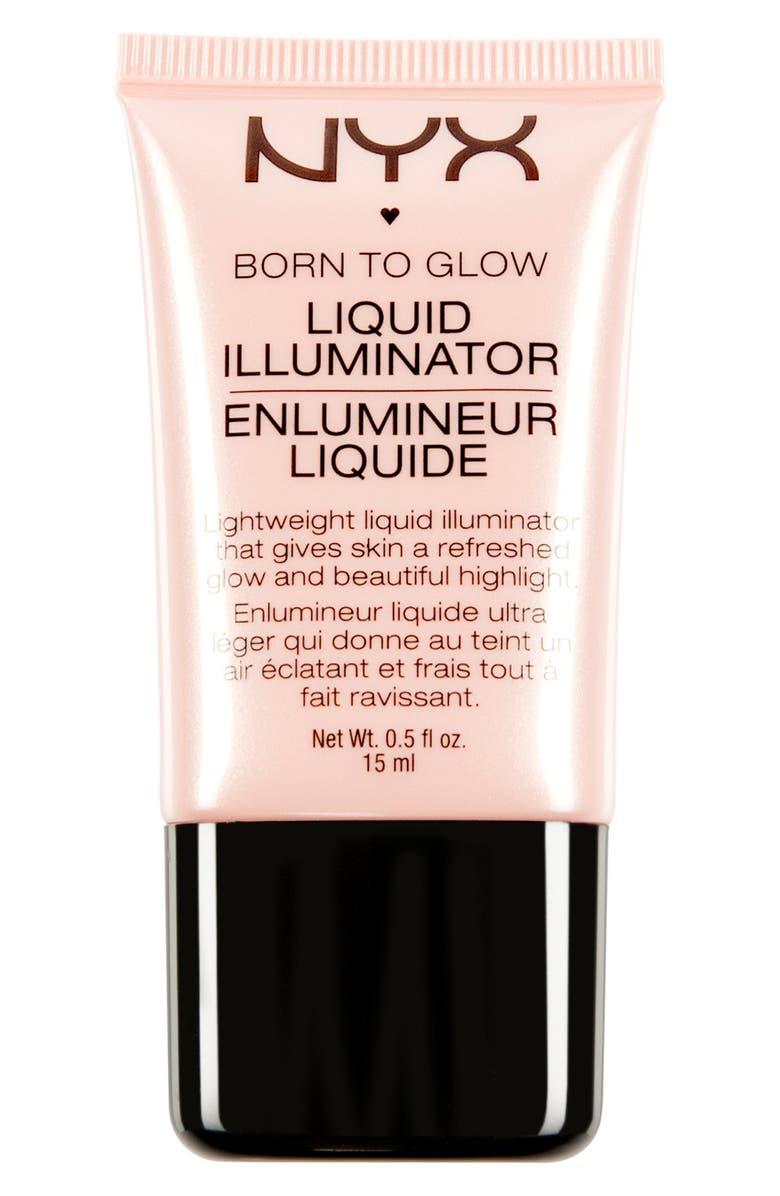 NYX 'Born to Glow' Liquid Illuminator, Main, color, 960
