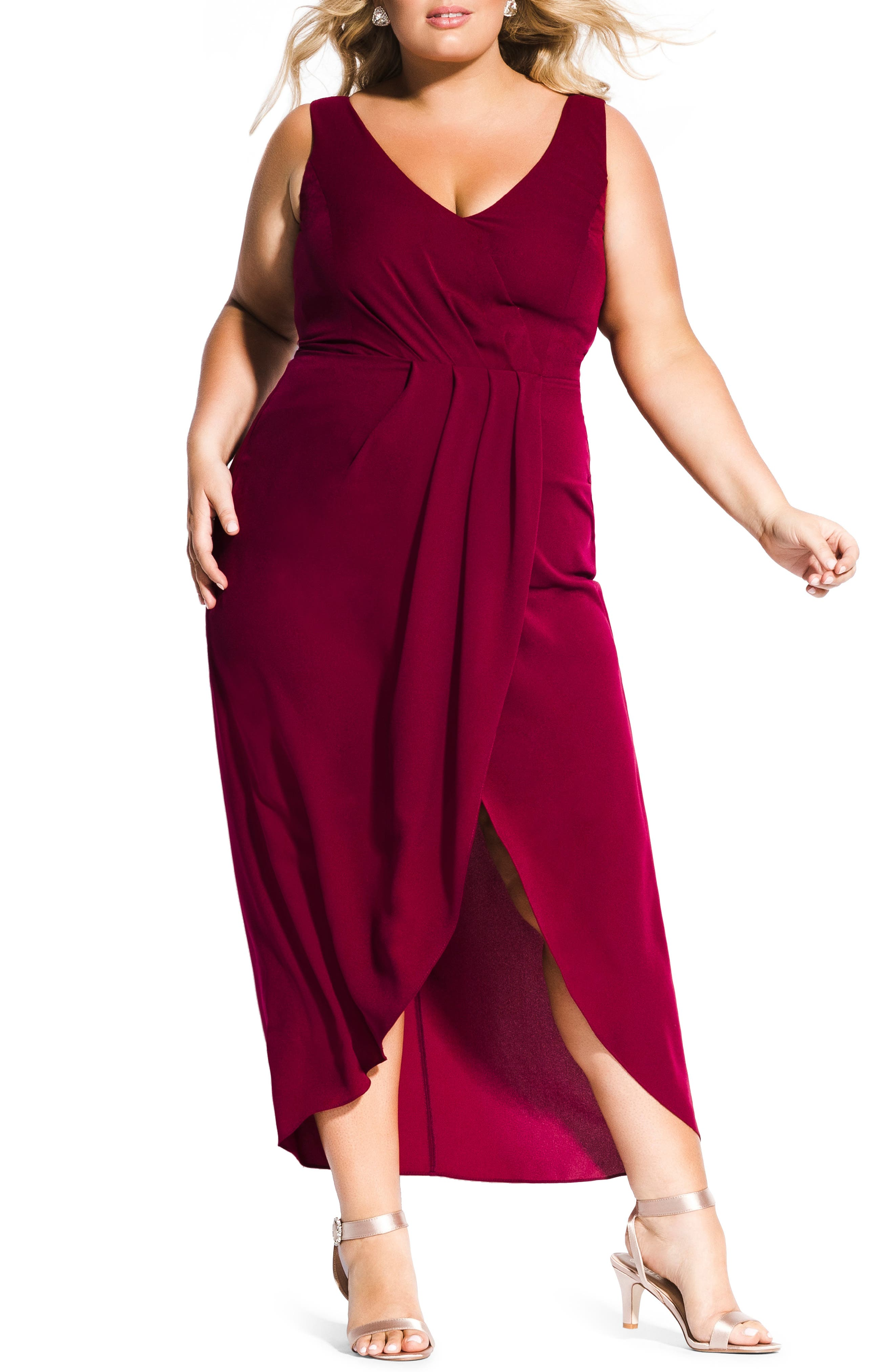 Plus Size City Chic Cherish Maxi Dress