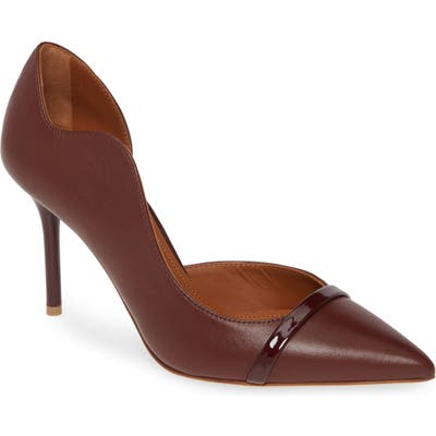 Malone Souliers Morrissey Wave Asymmetrical Pump, Brown (Nordstrom Exclusive)