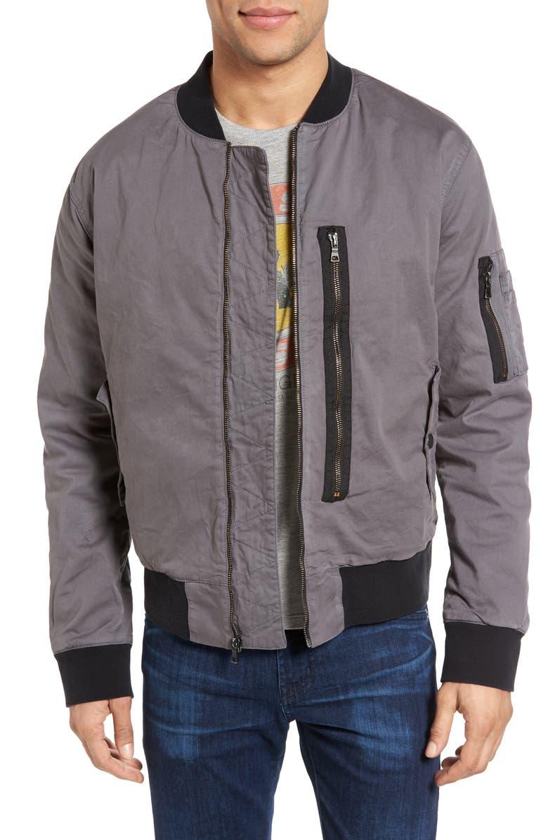 beb232c07 Hudson Jeans Knox Twill Bomber Jacket | Nordstrom