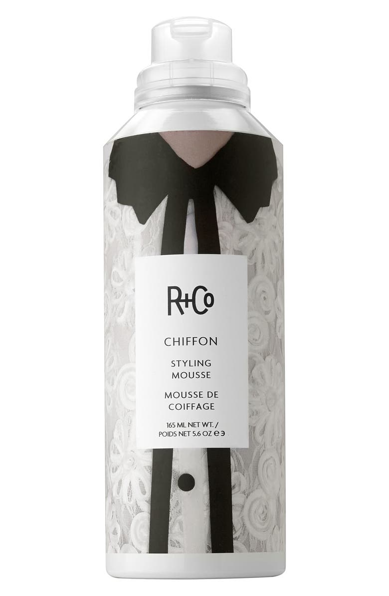R+CO Chiffon Styling Mousse, Main, color, NO COLOR