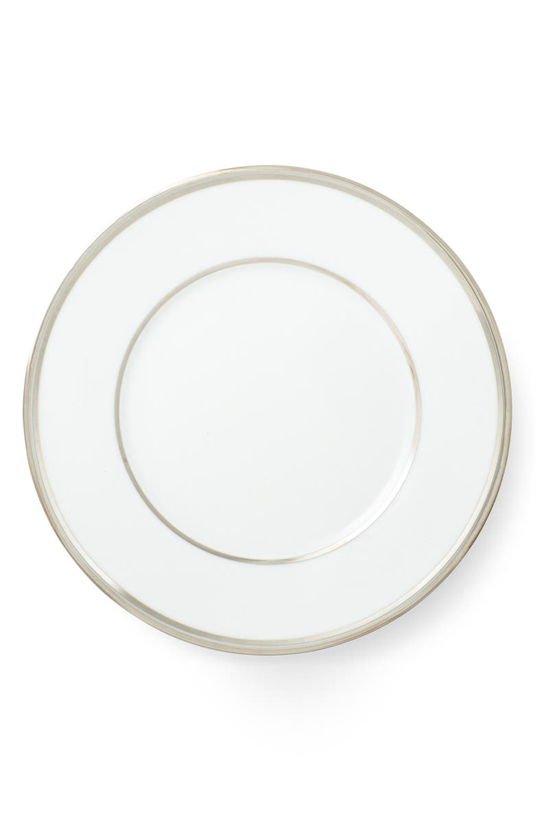 RALPH LAUREN Wilshire Salad Plate, Main, color, PLATINUM