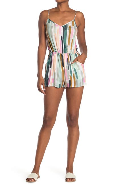 Image of The Bikini Lab Paint Party Romper