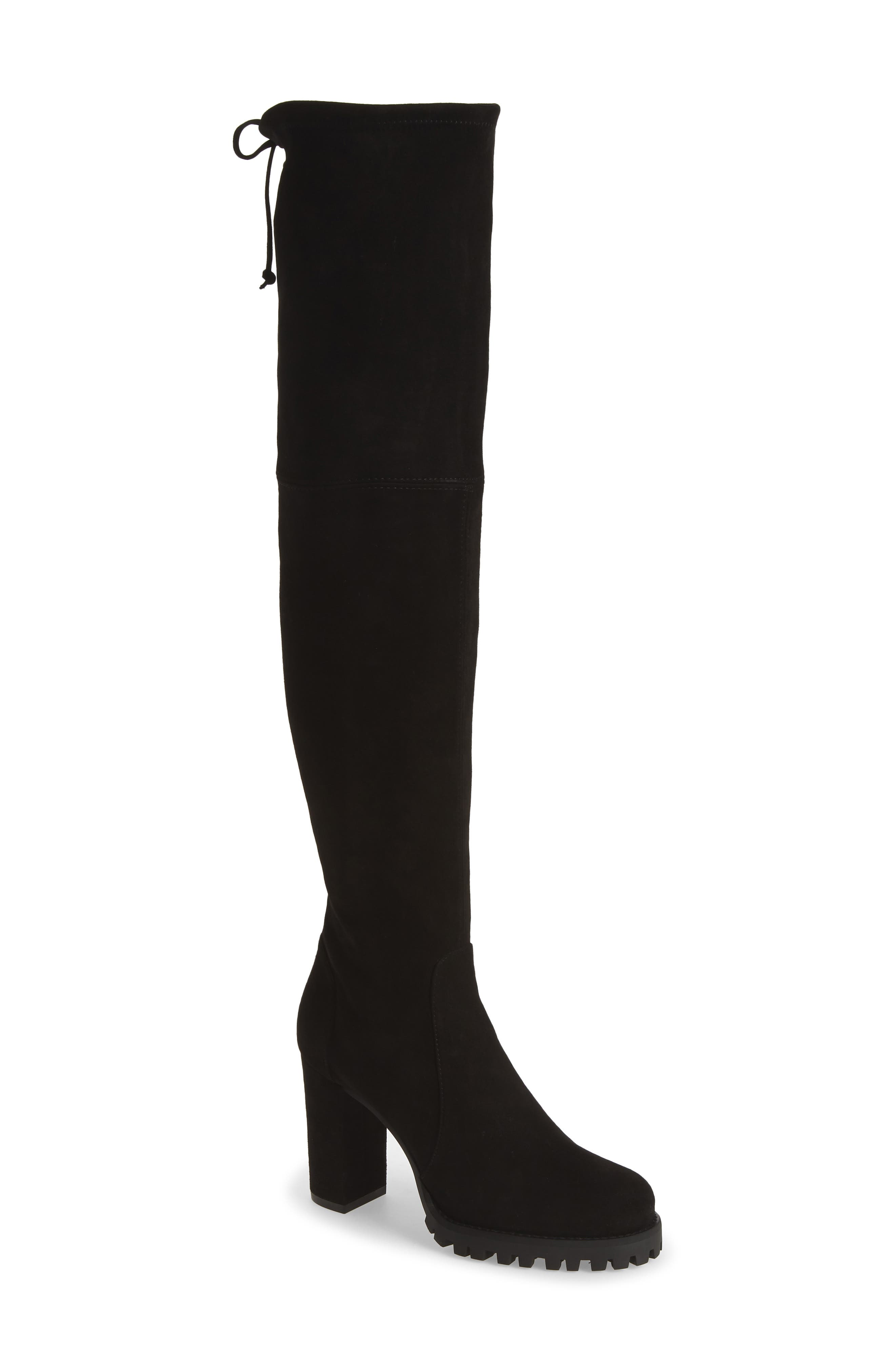 Sleek and stylish, this classic suede boot is the perfect addition to your autumn wardrobe. Style Name: Stuart Weitzman Zoella Over The Knee Boot (Women) (Narrow Calf). Style Number: 6100217. Available in stores.