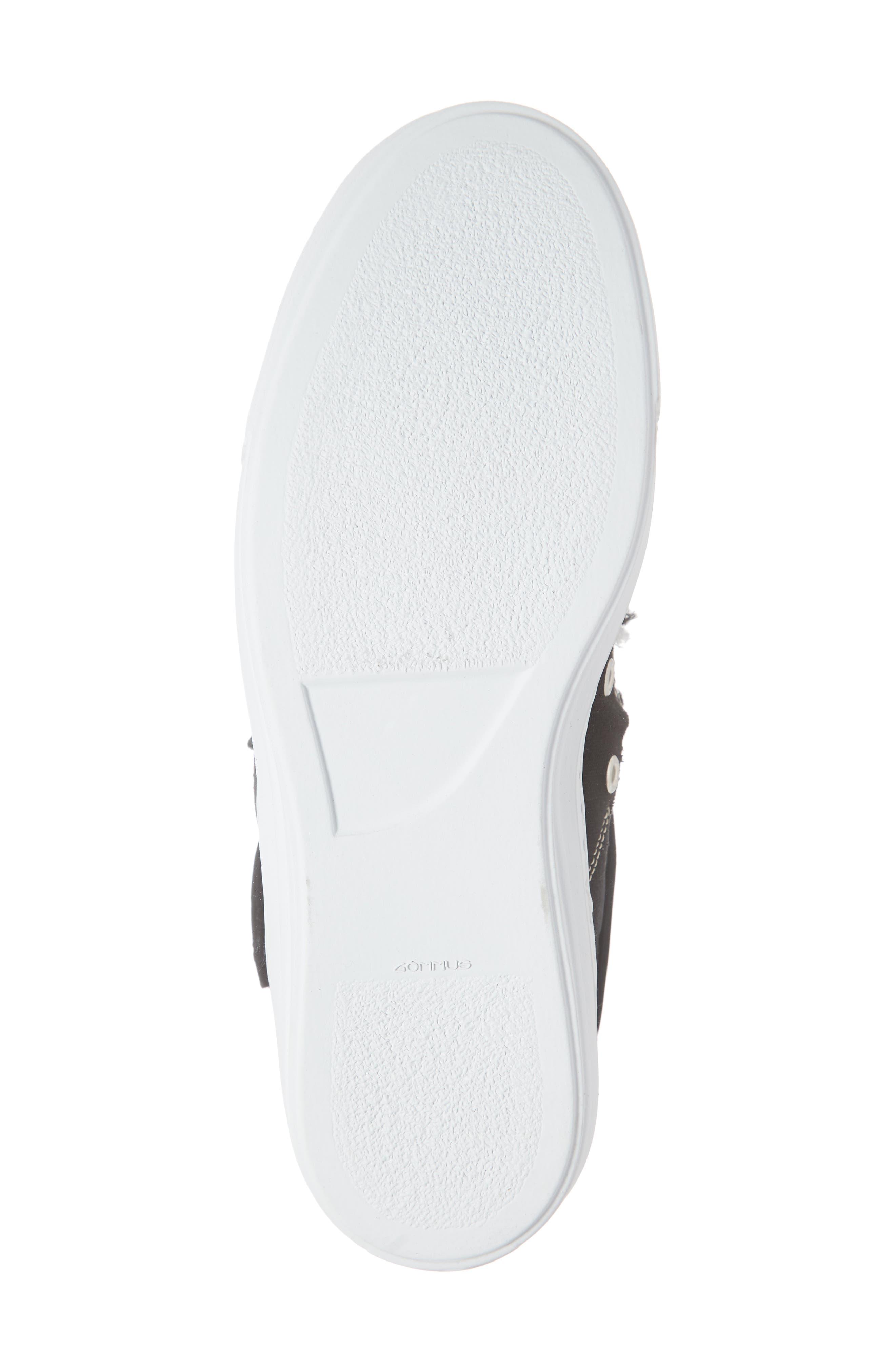 ,                             High Top Sneaker,                             Alternate thumbnail 6, color,                             001