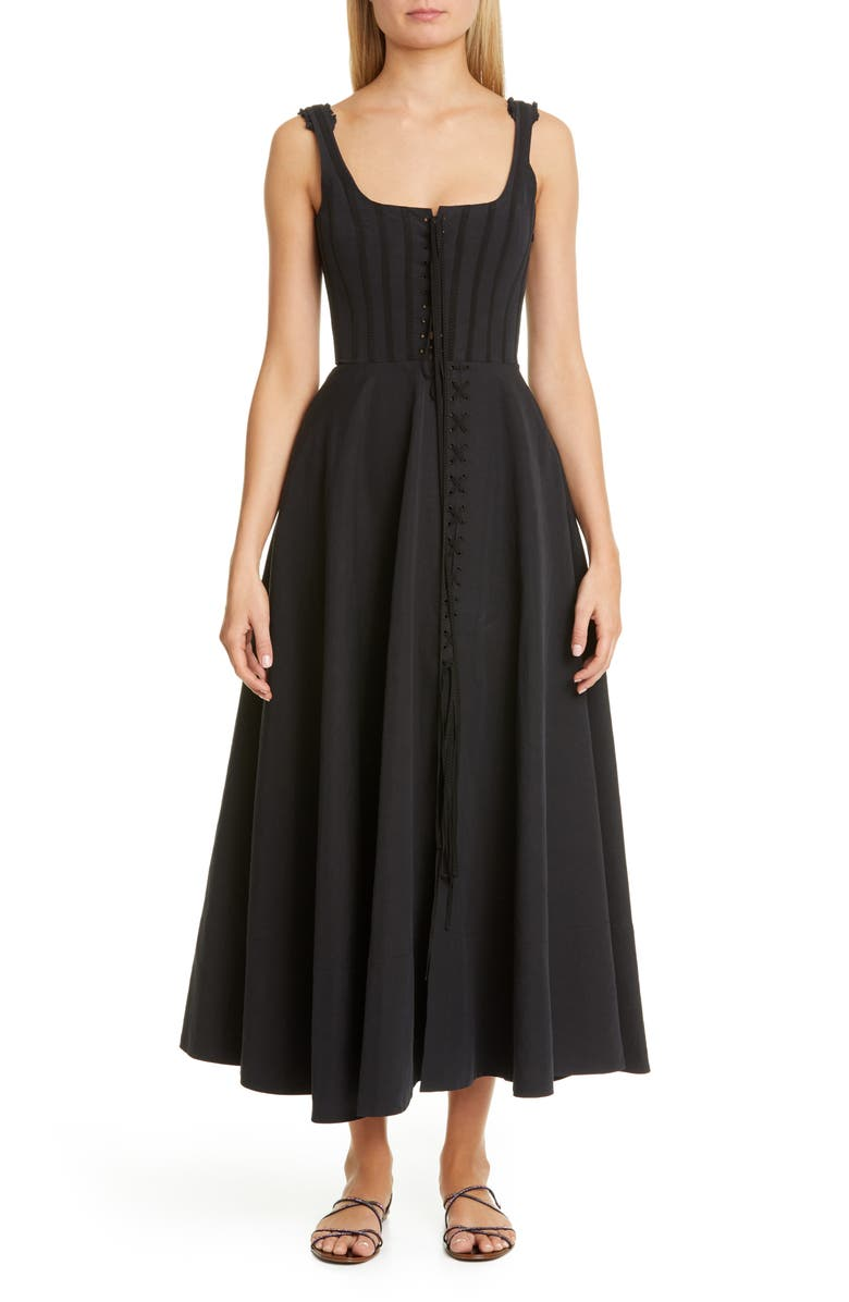 Brock Collection Corset Bodice Maxi Dress | Nordstrom
