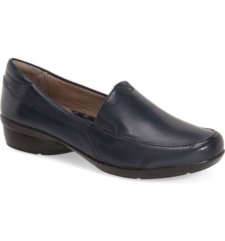 NATURALIZER 'Channing' Loafer, Main, color, NAVY