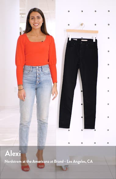 721<sup>™</sup> High Waist Skinny Jeans, sales video thumbnail