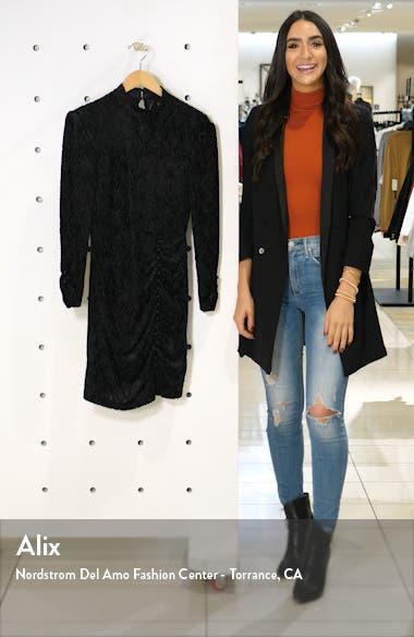 Ha Cha Cha Long Sleeve Velvet Minidress, sales video thumbnail