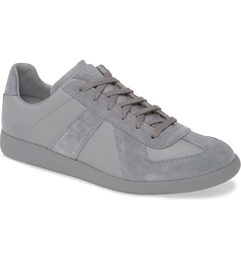 MAISON MARGIELA Replica Low Top Sneaker, Main, color, GREY
