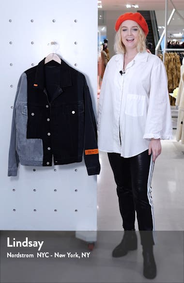 Patchwork Denim Jacket, sales video thumbnail