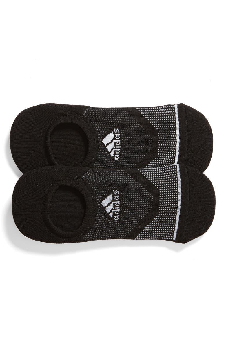 ADIDAS Original Prime Mesh III 2-Pack No-Show Socks, Main, color, 003