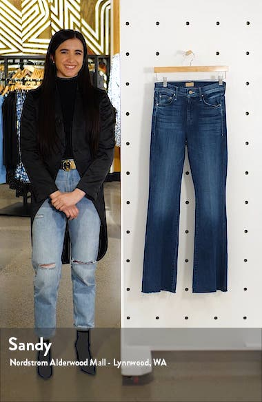 Frayed Flare Jeans, sales video thumbnail