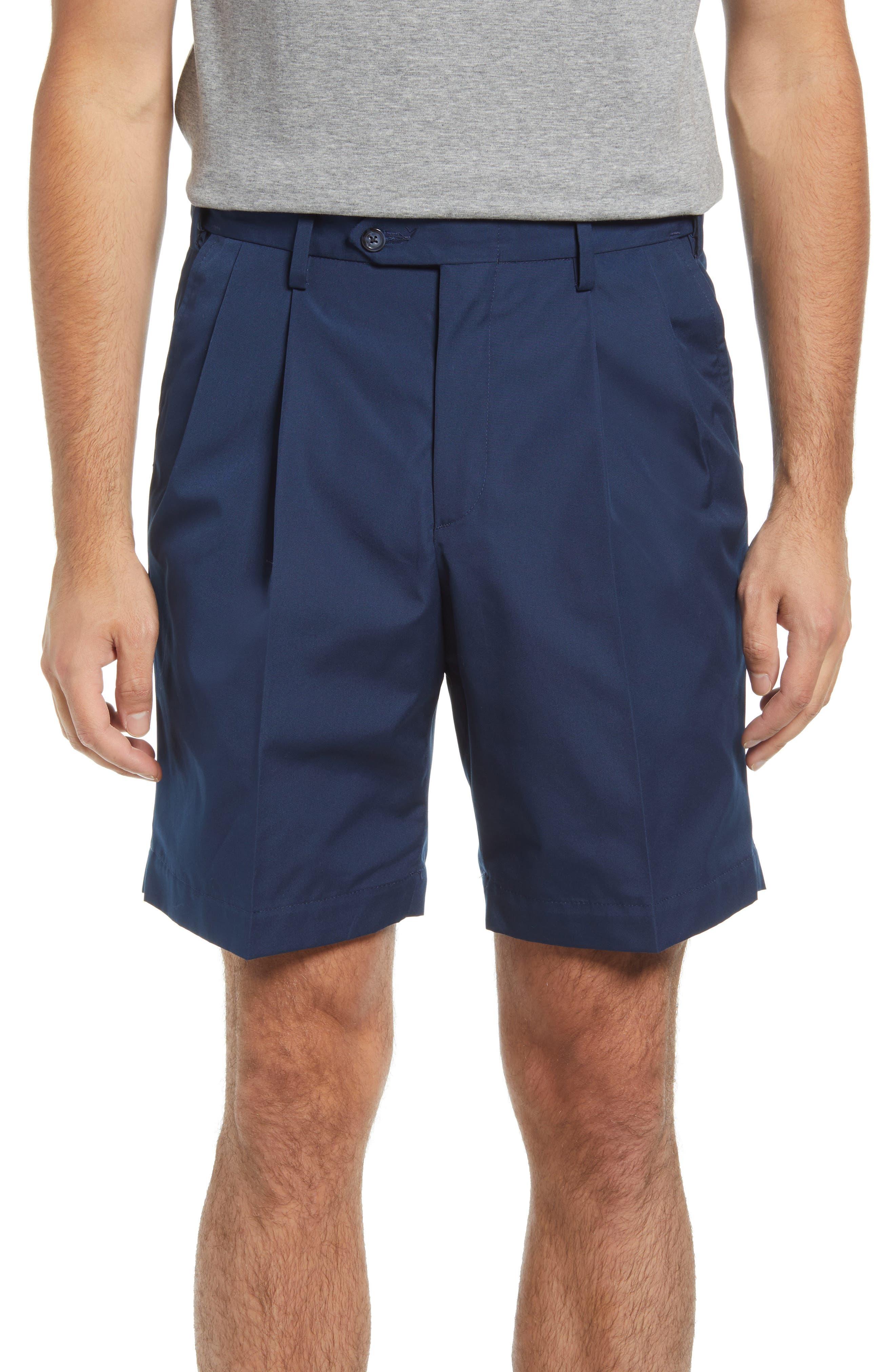 Prime Pleated Poplin Shorts