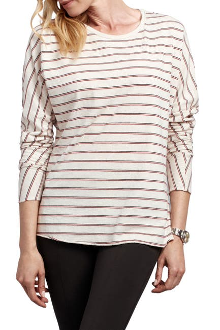 Image of FRANK & EILEEN Striped Long Sleeve T-Shirt