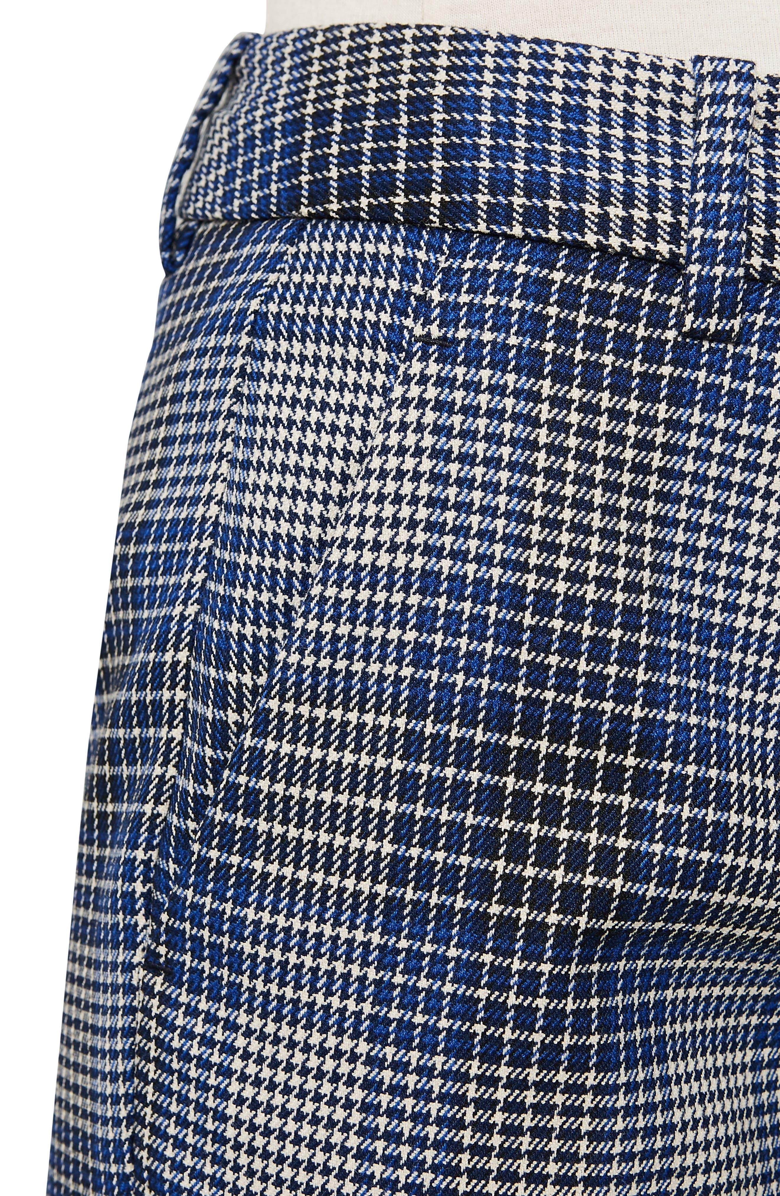,                             Josie Plaid Ankle Trousers,                             Alternate thumbnail 4, color,                             MULTI