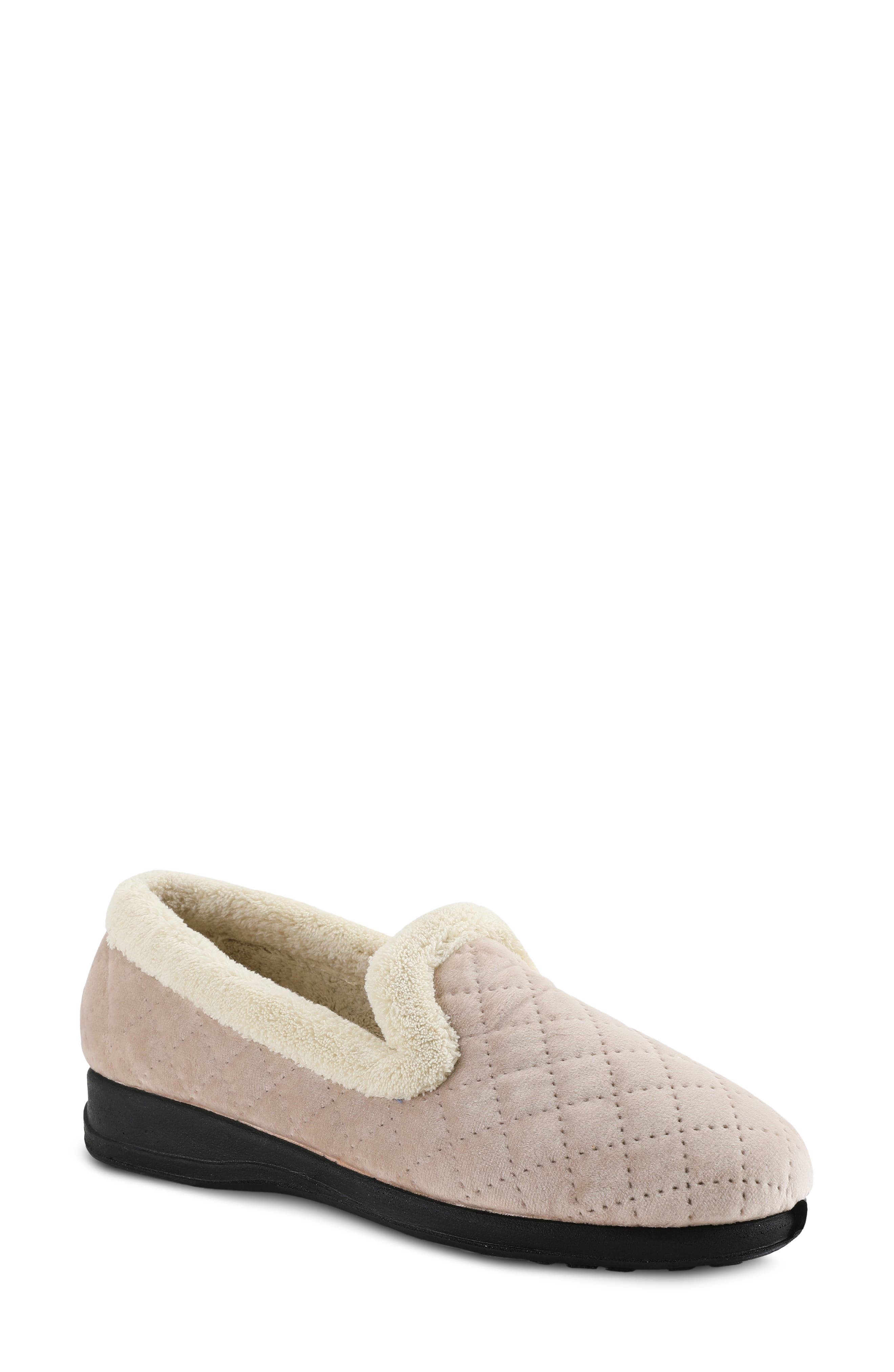 Slumbers Quilted Slipper