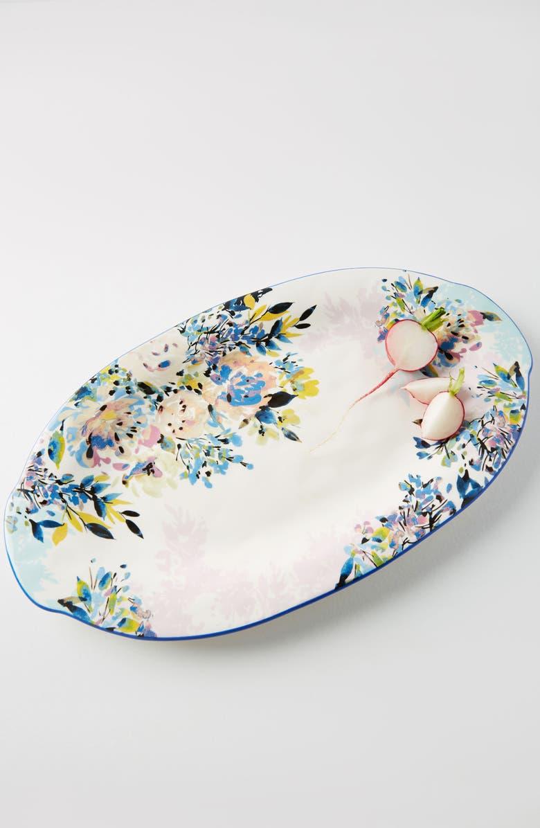 ANTHROPOLOGIE HOME Anthropologie Gardenshire Earthenware Platter, Main, color, 400