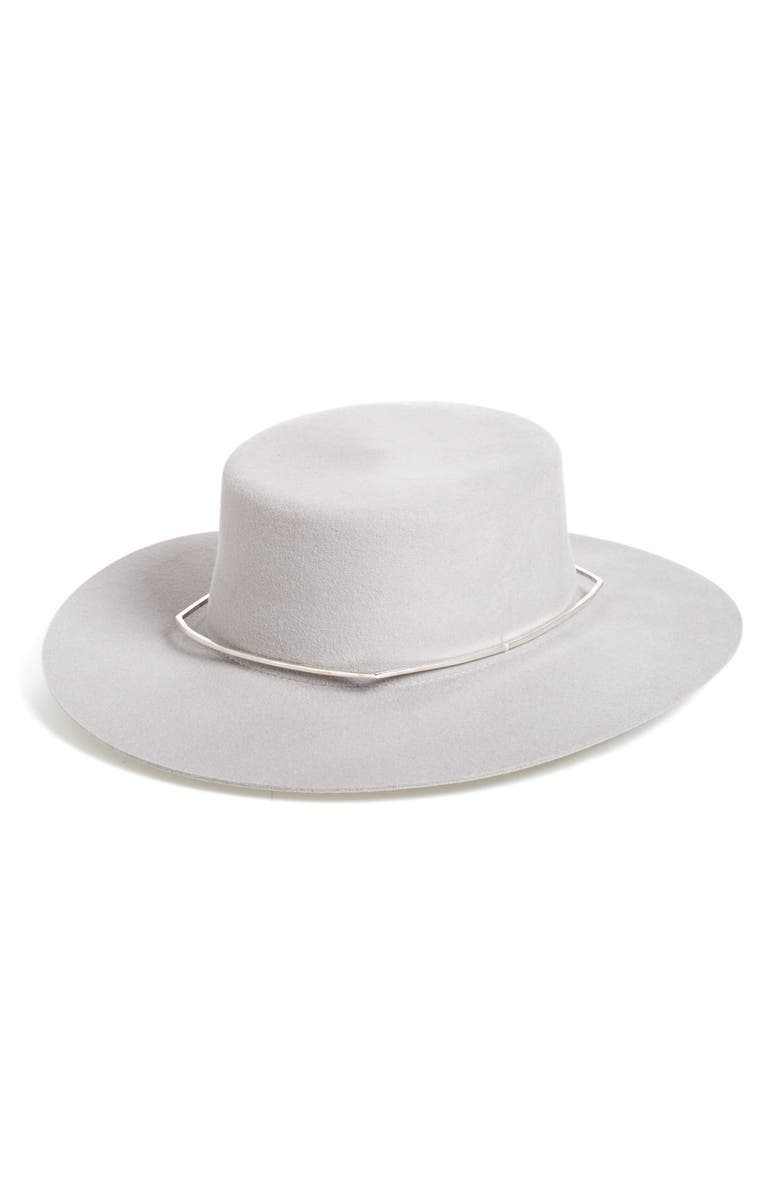 6348c95f49a84 Janessa Leone 'Mica' Wool Felt Hat | Nordstrom