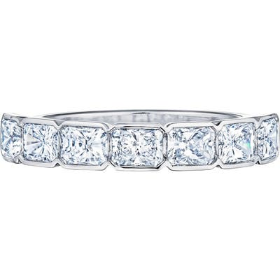 Kwiat Diamond Partway Platinum Ring