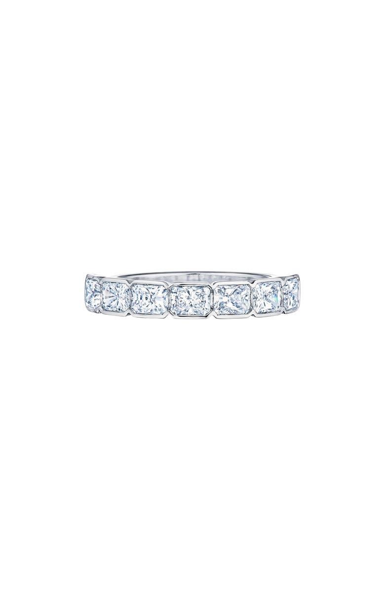 KWIAT Diamond Partway Platinum Ring, Main, color, PLATINUM